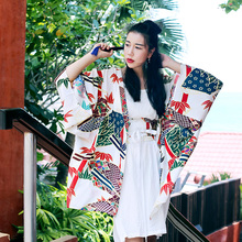 [ LYNETTE'S CHINOISERIE – MOK ] 2016 Summer Women Japanese Style Thin Cardigan Chiffon Blouse