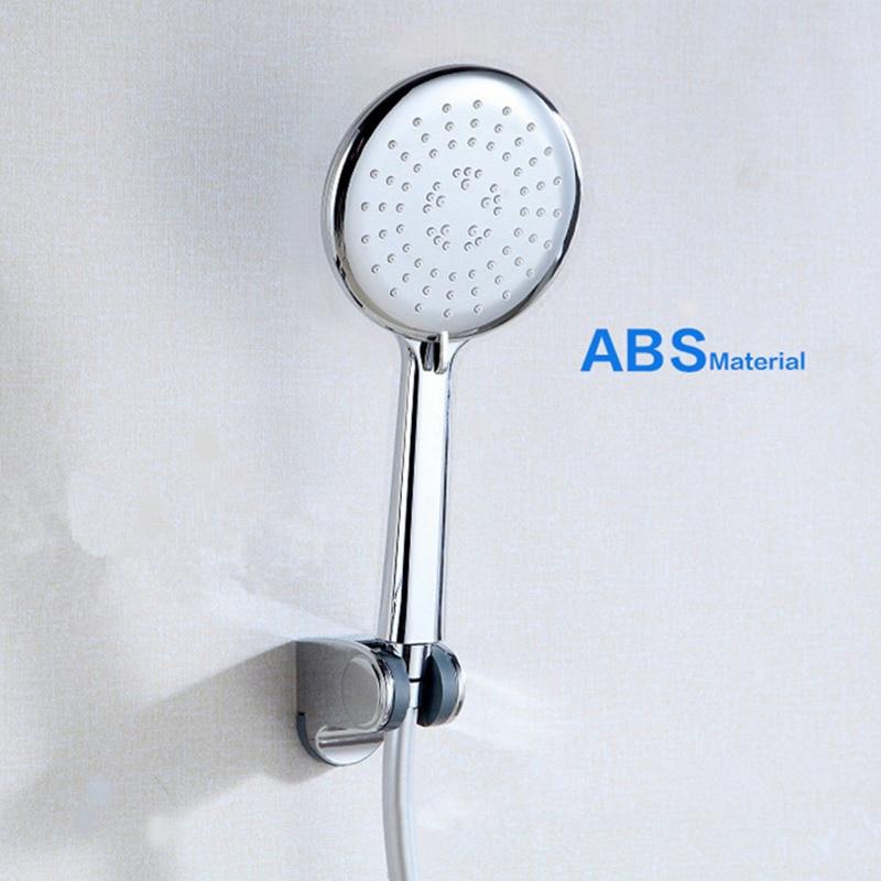 DONYUMMYJO New Water Saving Shower Heads Multi Functions Round Chrome Hand Hold Bath Shower Head Bathroom Accessories