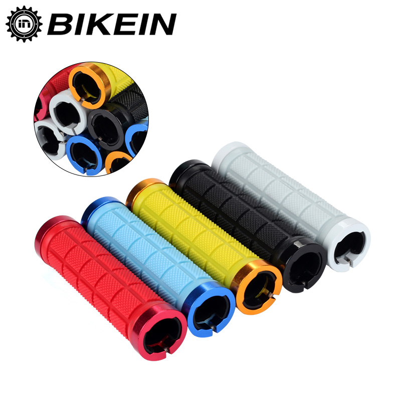 BIKEIN Cycling Mountain Bike Soft Non-Slip Comfortable Handlebar Grips Ends Waterproof Rubber MTB Grip Bicycle Accessories 136g коврики в салон полиуретановые и коврик в багажник novline для zotye t600