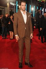 2017 Latest Coat Pant Designs Brown Tweed Men Suit Jacket Slim Fit 2 Piece Tuxedo Custom Style Suits Groom Prom Blazer Masculino