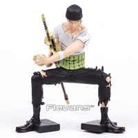 Anime One Piece Roronoa Zoro 10th ograniczone Ver. Pcv figurka – model kolekcjonerski zabawka 17 cm