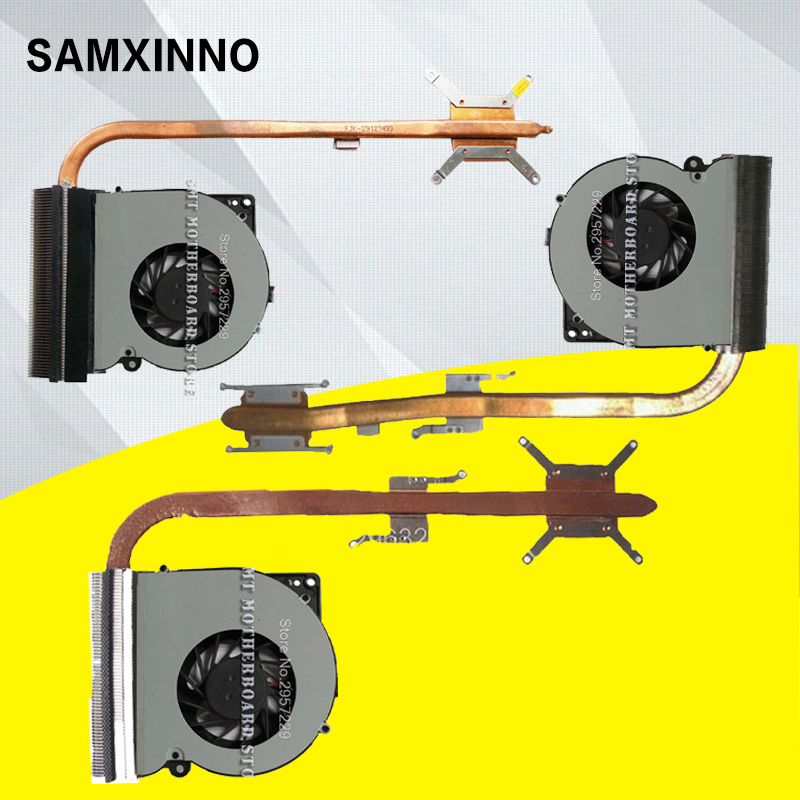 For ASUS Laptop K52-K52JR-K52JU-X52J-A52J-A52JT-X52JT-K52JT-K52J- K52JE K52JC A52 X52 Cooling Fan CPU Cooler Heatsink Heatpipe