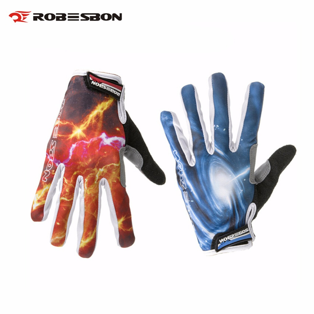 ღ Ƹ̵̡Ӝ̵̨̄Ʒ ღRobesbon Guantes mountain bike completo dedo guantes ...
