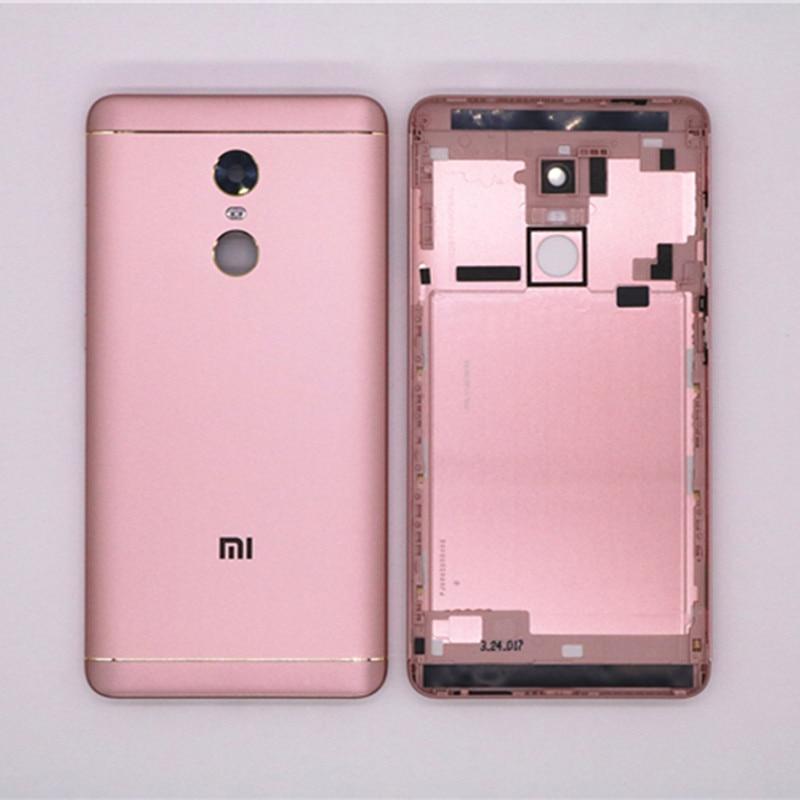 imágenes para Nuevas piezas de Repuesto Para Xiaomi Redmi Nota 4X Volver Batería Vivienda cubierta de La Puerta + Botones Laterales + Lente de La Cámara Flash reemplazo