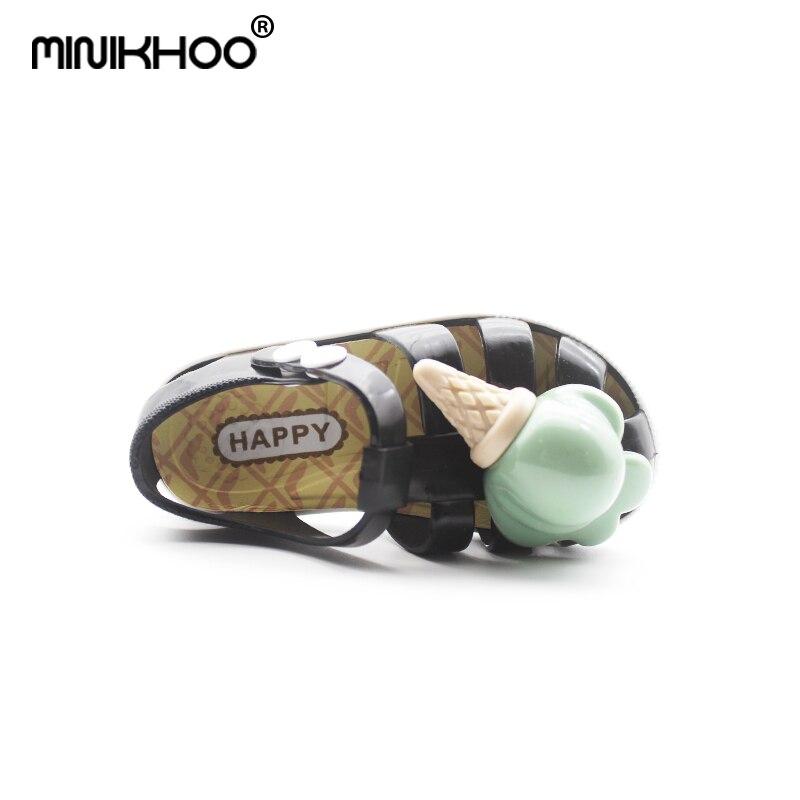 Mini Melissa 2018 nowe dzieci galaretki sandały lody mini melissa - Obuwie dziecięce - Zdjęcie 5