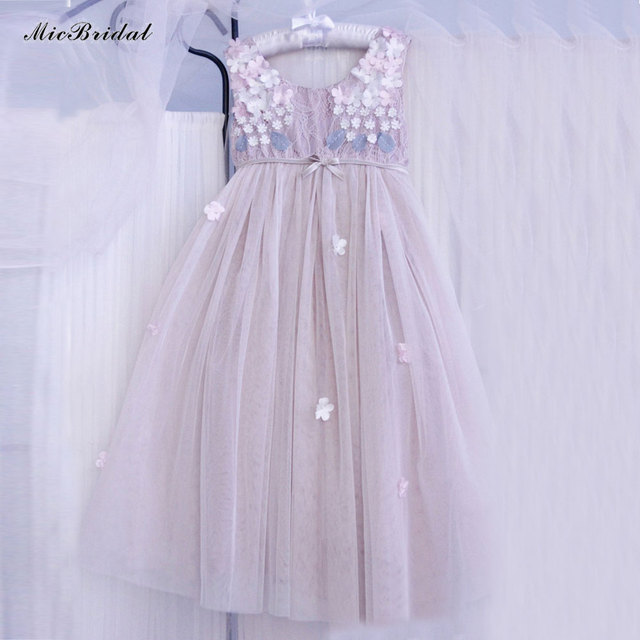 7bf17b2b2 Custom Made Tulle Toddler A Line Girls Frock Designs Abiti Da ...