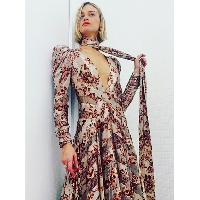 30a1ae7f1f Vacation style High quality Bohemian beach women s long sleeve V-neck sexy  dress party dress print Big swing dress