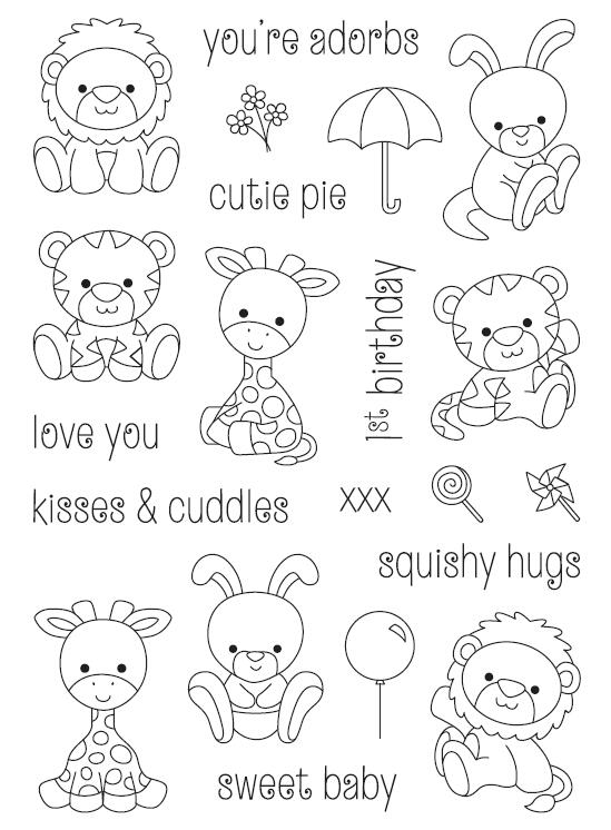 Cartoon Animals Transparent Clear Silicone Stamp/Seal for DIY scrapbooking/photo album Decorative clear stamp sheets A555 chicken animals transparent clear silicone stamp seal for diy scrapbooking photo album decorative clear stamp sheets a547
