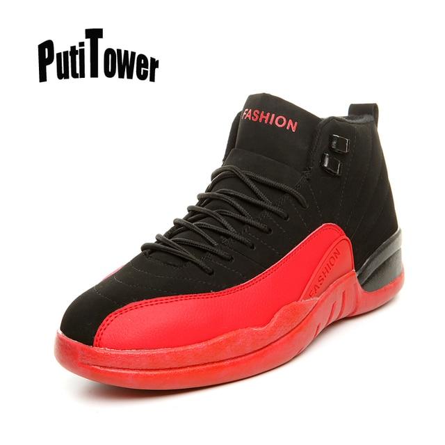 sneakers for cheap e57da 11a6e Más tamaño hombres mujeres Zapatillas de baloncesto NBA pareja profesional  zapatilla Tops Botines Tenis feminina chaussures