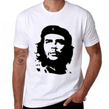 Che Guevara Hero Printed Cotton Men T shirt Short Sleeve Casual t-shirts Hipster Pattern Tees Cool Tops US/EUR Size(China)
