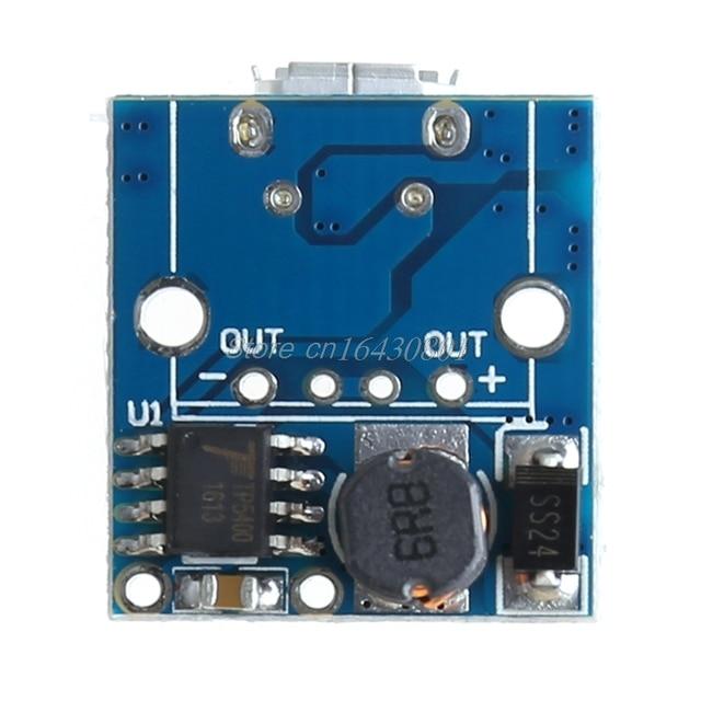 5 V Sạc Pin Lithium Bước Lên Ban Bảo Vệ Tăng Cường Mô Đun Nguồn Micro USB Li-Po Li-ion 18650 Cho công suất Ngân Hàng DIY S18