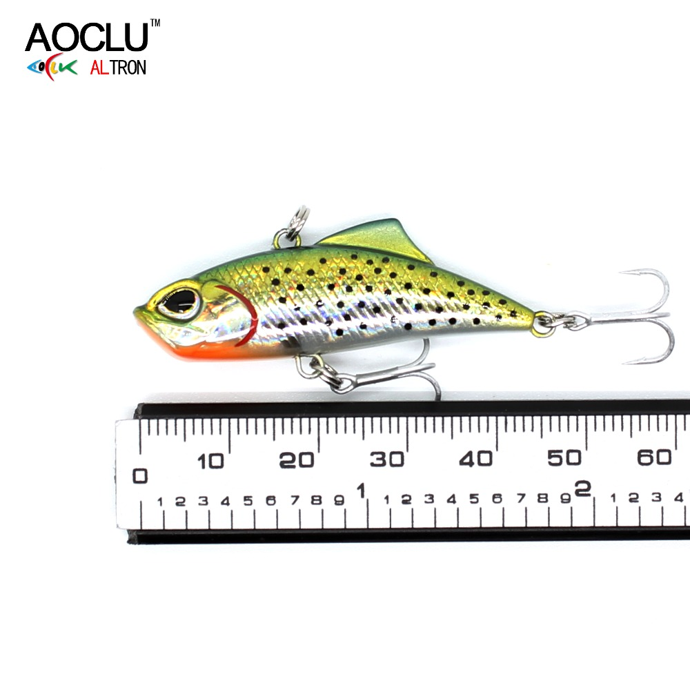 AOCLU Small VIB Salt Sinking-Lure Water-Tackle Hard-Bait 6-Colors Fresh New
