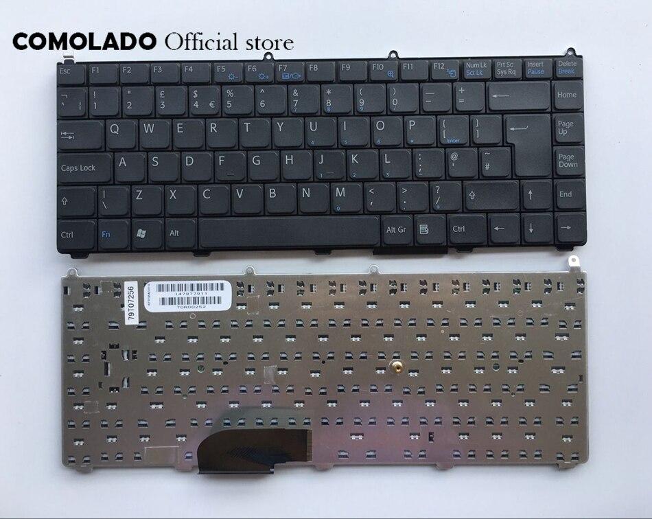 Великобритания клавиатура для SONY VAIO VGN-FE Черный клавиатуры ноутбука Великобритании макет