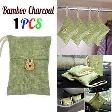 1 шт бамбуковый угольный мешок домашний шкаф для шкафа автомобиля бамбуковый уголь активированный уголь освежитель воздуха Запах Дезодорант шкаф свежий воздух