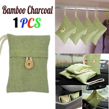 Bamboo-Charcoal-Bag Cabinet Carbon-Air-Freshener Deodorant Activated Home Closet 1pc