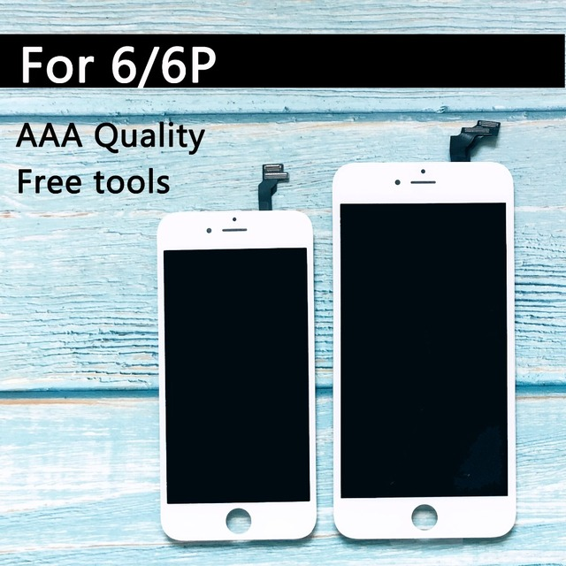 new products 30c40 5a638 US $11.64 35% OFF| Factory Sale Assembly for Iphone 6 LCD Display with  Touch Screen Digitizer Replacement Black and White 4.7inch 100% Test-in  Mobile ...