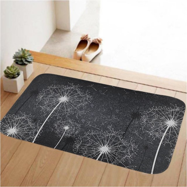 Tolulu Small Doormat Low Profile Door Mat Door Indoor/Bedroom/Front Door /Bathroom