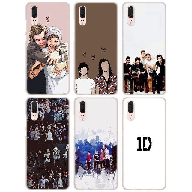 new product e4971 259e7 for Huawei P20 Case best One Direction Collection Style clear frame ...