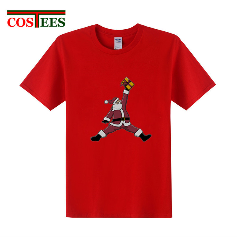 ebfb50118e0d Detail Feedback Questions about Parody Air Santa T shirts men Merry  Christmas Tee Ugly sweaters Funny Basket ball Michael 23 T shirt family  X mas Gift tee ...