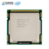 Intel Core i7 860 Desktop Processor i7 860 Quad Core 2.8GHz 8MB L3 Cache LGA 1156 Used CPU