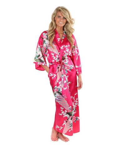 ホット販売ブルー女性のシルクレーヨンローブガウン着物浴衣中国女性のセクシーなランジェリーパジャマプラスサイズ SML XL XXL XXXL A-046