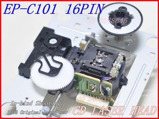 HI-FI CD laser lens  EP-C101 EP-C101N (16PIN CABLE)  FOR Burmester CD Optical pickup with Mechanism  (DA11-16P) EPC101   EP C101
