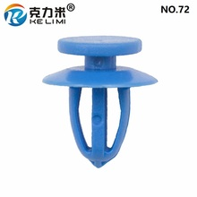 KE LI MI Nylon Door Panel Retainers Clips Blue Car Universal Decorative Buckle