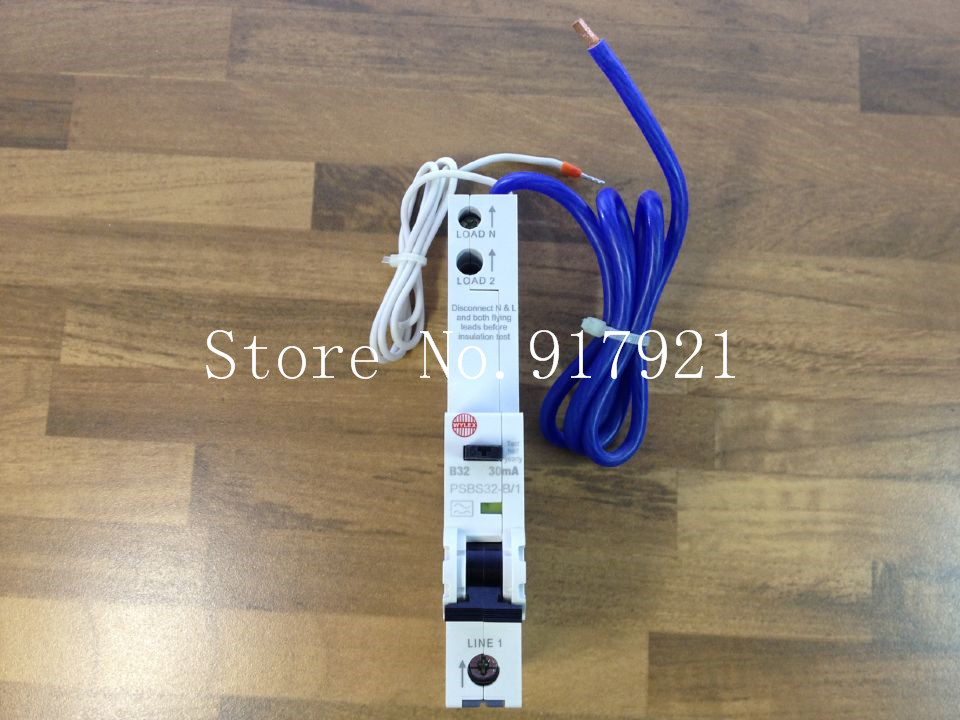 [ZOB] The German WYLEX PSBS32-B/1 leakage protector compact leakage protection switch 30MA 1P32A imported --5pcs/lot