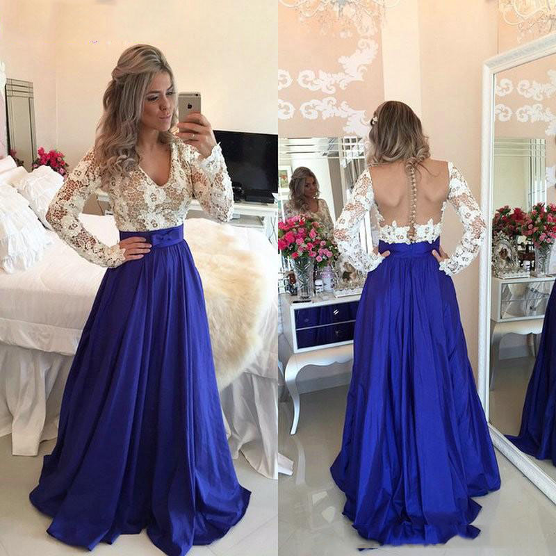 Royal Blue Taffeta Long Maxi Skirt For Women To Formal Party A Line Floor Length Zipper Waist Elegant Long Skirt Custom Made