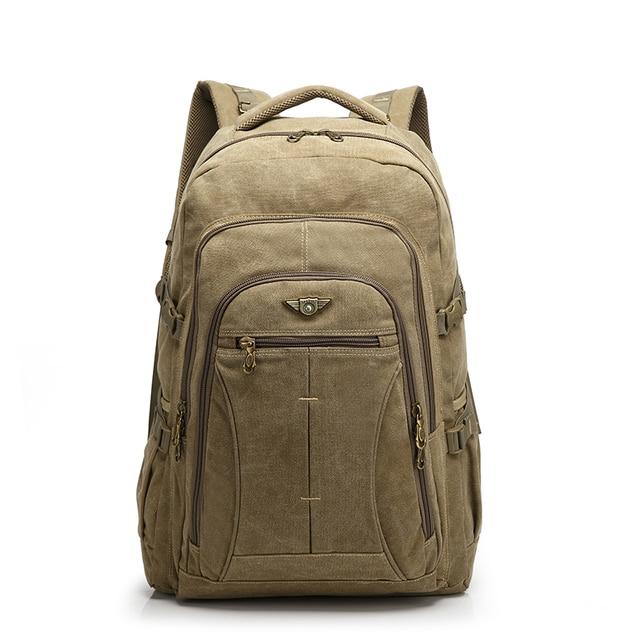 45c2e23fb491 YUPINXUAN 40 литров холст рюкзаки для мужчин большой ноутбук Рюкзак  Огромный Дорожная сумка большой ёмкость подростков