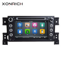 Xonrich 2Din Car DVD Player For Grand Vitara 2005 2006 2007 2008 2009 2010 2011 2012 2013Radio Audio GPS Navigation Stereo 125mm