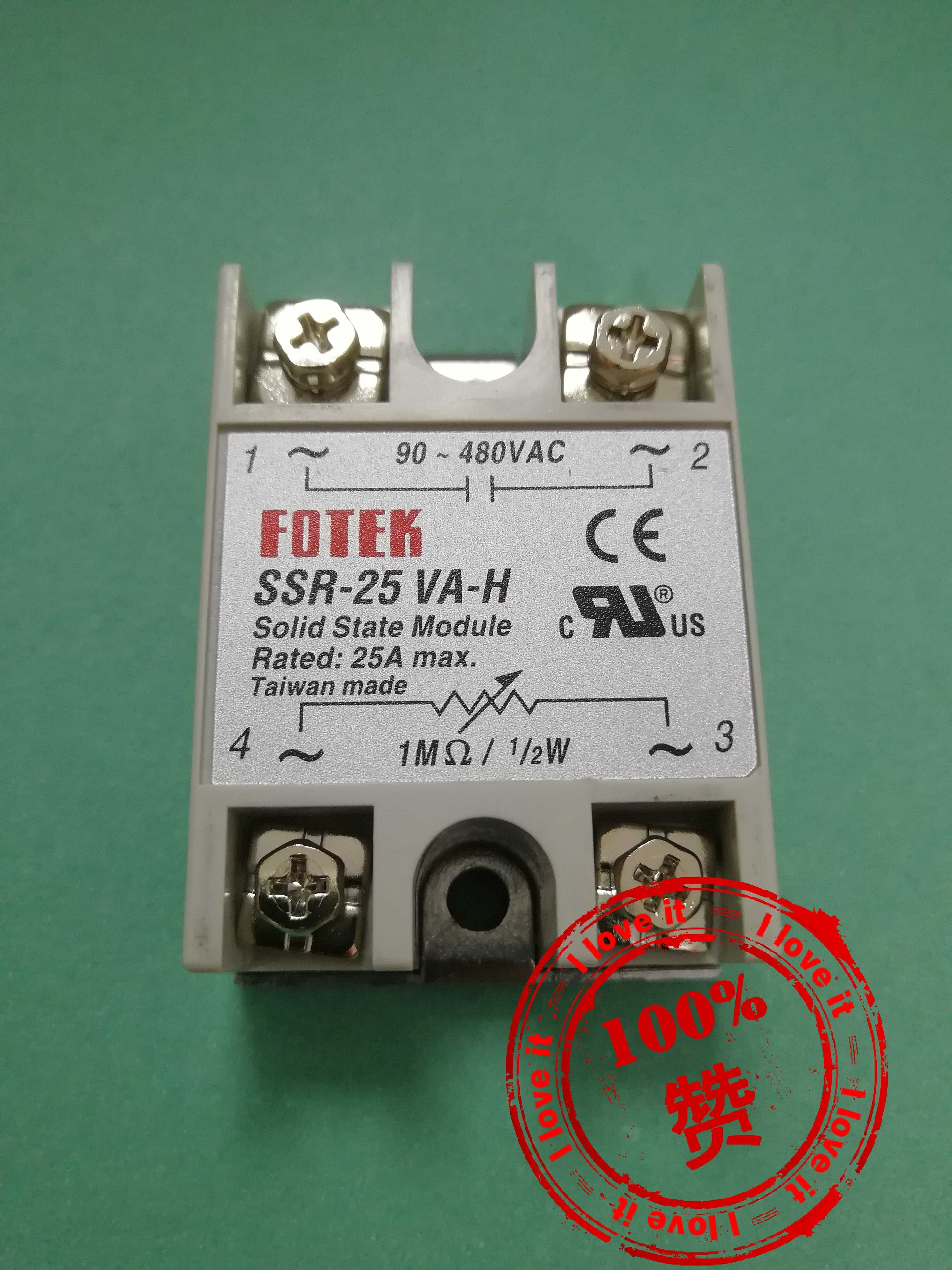 Single phase withstand voltage solid state relay SSR-25VA-H New imported ssr-25Single phase withstand voltage solid state relay SSR-25VA-H New imported ssr-25