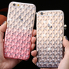 KISSCASE Luxury Bling Diamond Phone Cases For iPhone 6 6S Case Fashion Gradient Color Crystal Back Cover For iPhone 6 6S Plus