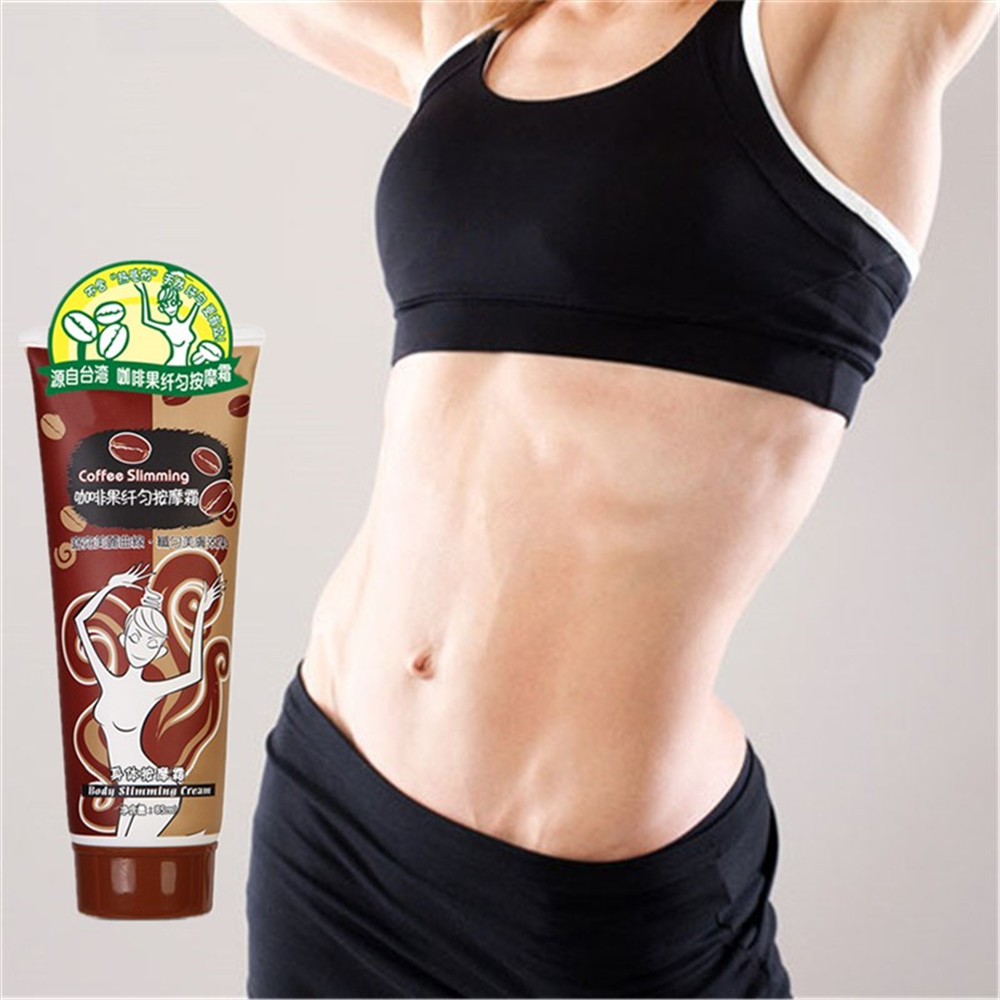 85ml Coffee And Body Slimming Cream Massage Essence Oil for Fat Burning Weight Loss Health Care 100% Effective safety