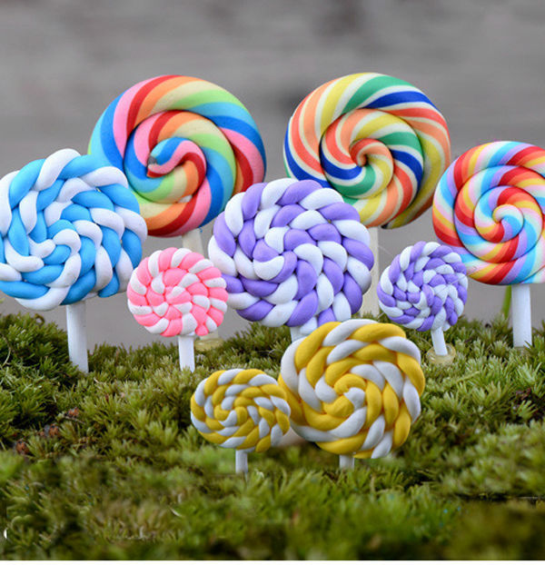 Aliexpresscom Buy 12pcs lot lollipop micro landscape fairy