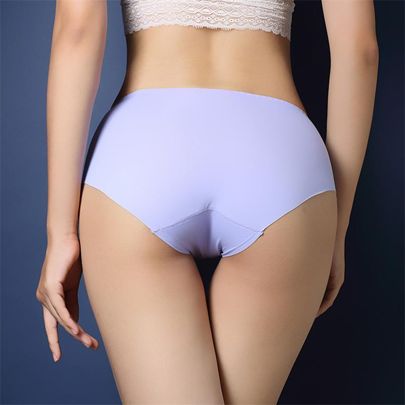 2018 New Underwear Womens A Piece Of Ice Silk Without -6145