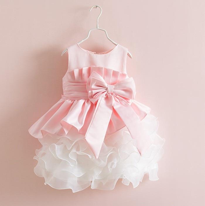 Lujo Vestidos De Boda Del Bebé Recién Nacido Ornamento - Ideas de ...