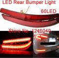 Lente 60LED vermelho traseiro refletor luz de freio parada lâmpada luz rear fog lâmpada luz para 2011 2012 2013 Hyundai Kia Optima K5