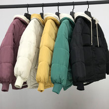 new Hooded Collar Female Coat Winter Womens Outwear Jackets Autumn Cotton Padded Chaqueta Mujer Invierno