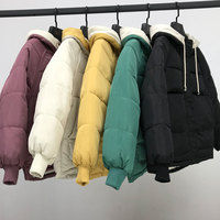 new Hooded Collar Female Coat Winter Womens Outwear Winter Jackets Autumn Cotton Padded Chaqueta Mujer Invierno