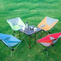 Ultraleve lua cadeiras portátil jardim al cadeira de pesca o diretor assento acampamento removível dobrável mobiliário poltrona indiana   -