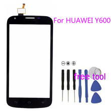 High Quality Smartphone For Huawei Y600 Touch Screen Digitizer Touch Panel Black White Color