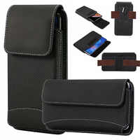 Yelun For Oneplus 1+ 7 Pro 6T 6 5T 5 3 2 Mobile Phone Bag Hook Loop Belt Pouch Holster Bag Pocket Cover Case