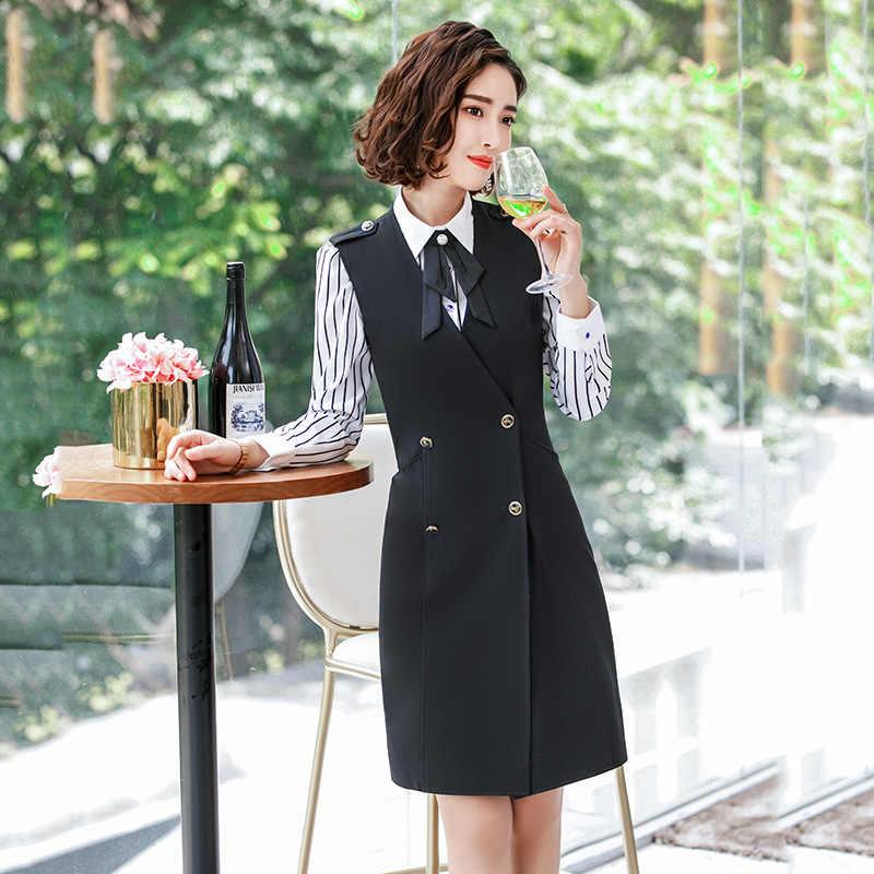 79b83a1afb068 2018 elegant designs women's suits formal office Lady dress ladies suit  dresses Work outfit wear business costume office uniform