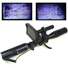 a1f330661d2b0 Meilleur Sniper extérieur chasse optique vue tactique lunette de visée  infrarouge lampe de poche avec LCD vision nocturne pour p.
