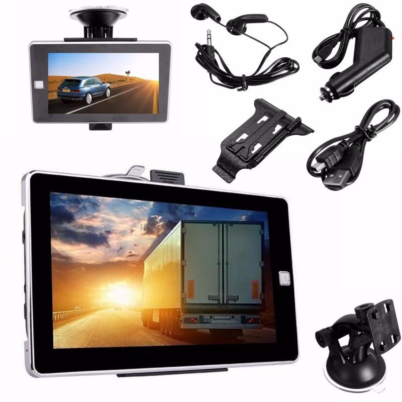 E70 5inch 4GB HD Screen Car GPS Navigation Navigator SAT NAV Free US Maps Updates