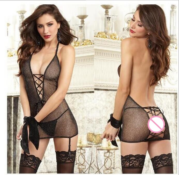 Cosplay Game Underwear Sexy Night Sleepwear With G String Nightwear Babydoll font b Sex b font