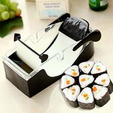 Magic Rice Sushi Roller Mould Easy Sushi Maker Mochi Cutter Roll Kit DIY Kitchen Perfect Magic