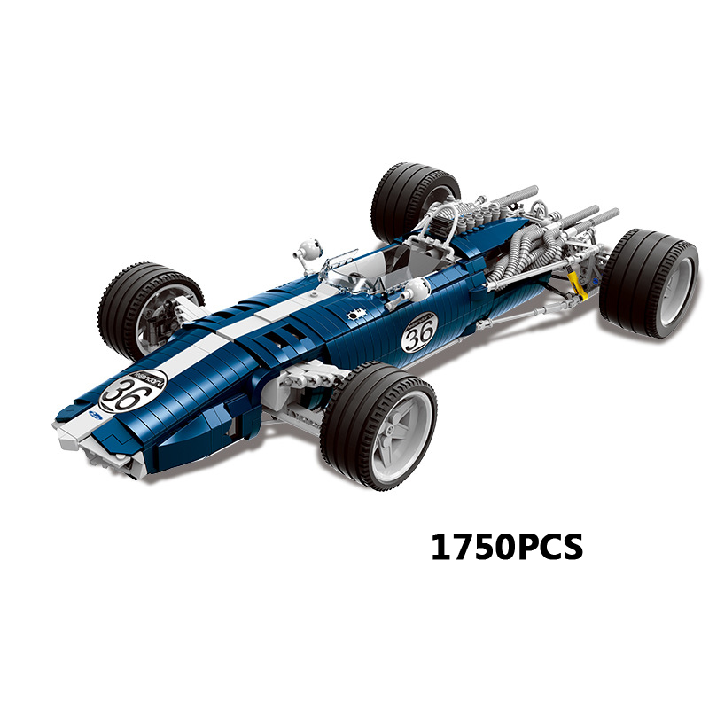 Dream-car Technics Sonic racing car F1 formula super sports car moc building bricks model stack block assemblage toys collection все цены