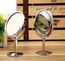 BTR1-Metal зеркало для макияжа туалетный зеркало рабочего стола зеркало вращающееся 1:2 Zoom функция